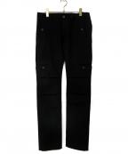 OURET(オーレット)の古着「ウールデザインパンツ」|ブラック