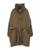 NATAL DESIGN(ネイタルデザイン)の古着「ENGLEMANN PRIMALOFT COAT」 ベージュ