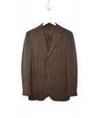 BOW&ARROWS(ボウアンドアローズ)の古着「ストライプジャケット」|ブラウン