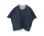 ASHLEY ROWE(アシュリーロウ)の古着「カットオフデニムTシャツ」|インディゴ