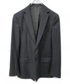 VERSACE(ヴェルサーチ)の古着「ウールテーラードジャケット」|ライトグレー