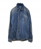 MCQ()の古着「デニムシャツジャケット」|ブルー