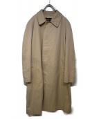 Burberrys(バーバリーズ)の古着「ラグランスリーブオールドバルマカーンコート」 ベージュ