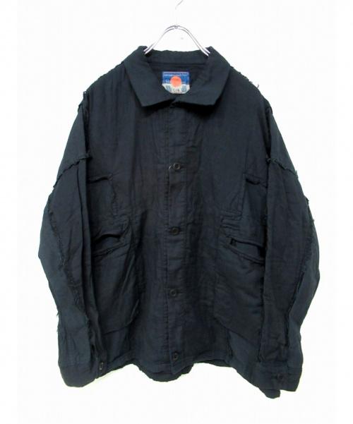 blackmeans(ブラックミーンズ)blackmeans (ブラックミーンズ) コットンジャケット グレー サイズ:4 未使用品の古着・服飾アイテム