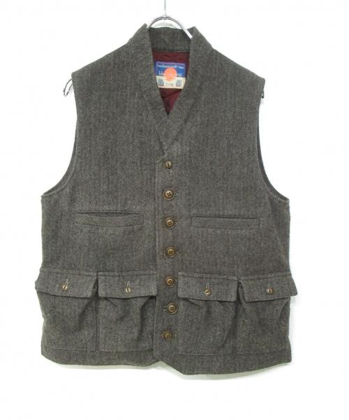 blackmeans(ブラックミーンズ)blackmeans (ブラックミーンズ) ウールベスト グレー サイズ:3 未使用品の古着・服飾アイテム