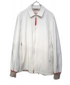PRADA SPORTS(プラダスポーツ)の古着「ナイロンジャケット」|ホワイト