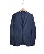 Cantarelli(カンタレリ)の古着「テーラードジャケット」|ネイビー×ホワイト