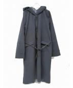 SUNSEA(サンシー)の古着「フーデッドコート」|ネイビー