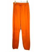 UNUSED(アンユーズド)の古着「スウェットパンツ」|オレンジ