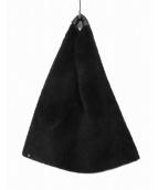 MM6(エムエムシックス)の古着「ジャパニーズボアトライアングルバッグ」 ブラック
