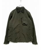 TATRAS(タトラス)の古着「ナイロンシャツジャケット」|カーキ