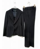JUNYA WATANABE CDG(ジュンヤワタナベコムデギャルソン)の古着「セットアップスーツ」|ブラック
