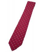 HERMES(エルメス)の古着「ネクタイ」 ピンク