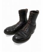 WHITES BOOTS(ホワイツ ブーツ)の古着「キャップトゥスモークジャンパー」|ダークブラウン