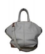 ALEXANDER WANG(アレキサンダーワン)の古着「2WAYバッグ」|ライトグレー