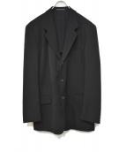 YOHJI YAMAMOTO COSTUME DHOMME(ヨウジヤマモトコスチュームドオム)の古着「3Bジャケット」|ブラック