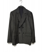 TOGA VIRILIS(トーガ ヴィリリース)の古着「シルク混ダブルブレストジャケット」 グレー