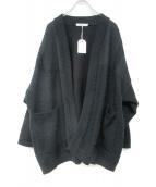 YASHIKI(ヤシキ)の古着「20S/S Shunto Hanten Knit」|ブラック