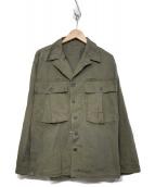 US ARMY(米軍)の古着「ミリタリージャケット」|カーキ