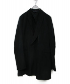 Essay(エッセイ)の古着「17S/S Peaked Lapel Jacket」|ブラック