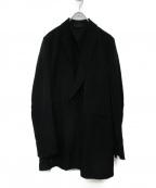 Essay(エッセイ)の古着「17S/S Peaked Lapel Jacket」 ブラック