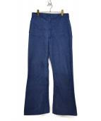 US NAVY(ユーエスネイビー)の古着「80'S DENIM UTILITY PANTS」|インディゴ