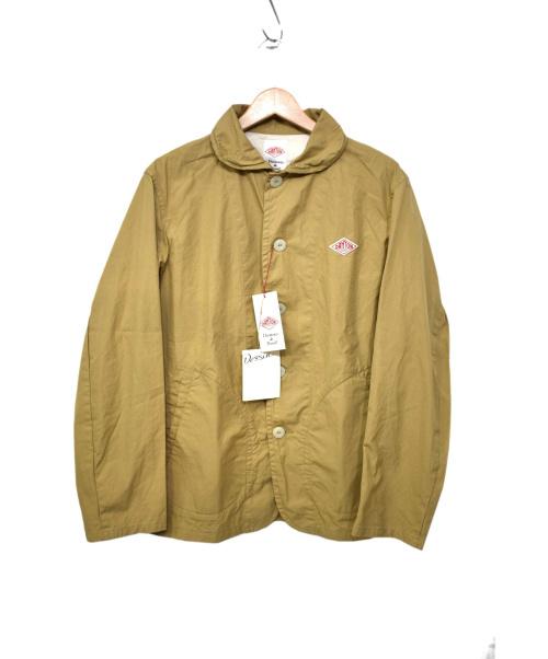 DANTON(ダントン)DANTON (ダントン) ラウンドカラージャケット ベージュ サイズ:L 未使用品の古着・服飾アイテム