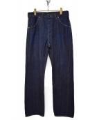 CANTATE(カンタータ)の古着「19AW W Denim Pants」 インディゴ