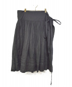 tricot COMME des GARCONS(トリコ コムデギャルソン)の古着「ラインテーププリーツスカート」