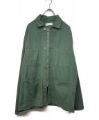 NEON SIGN(ネオンサイン)の古着「デニムカバーオール」|グリーン