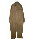 VAINL ARCHIVE(バイナルアーカイブ)の古着「製品染めジャンプスーツ」|ベージュ