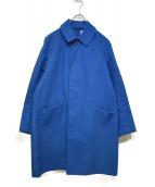 ORCIVAL(オーチバル)の古着「ステンカラーコート」 ブルー