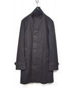 junhashimoto(ジュンハシモト)の古着「19SS STAND COLLAR COAT」|ブラック