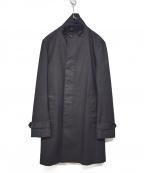 Junhashimoto(ジュンハシモト)の古着「19SS STAND COLLAR COAT」 ブラック