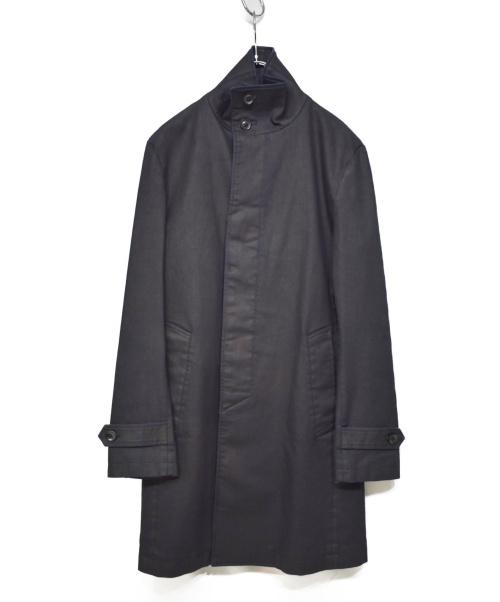 Junhashimoto(ジュンハシモト)junhashimoto (ジュンハシモト) 19SS STAND COLLAR COAT ブラック サイズ:3 未使用品 1011910004の古着・服飾アイテム