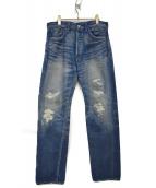 LEVIS VINTAGE CLOTHING(リーバイス ヴィンテージ クロージング)の古着「1955'S復刻デニムパンツ」|インディゴ
