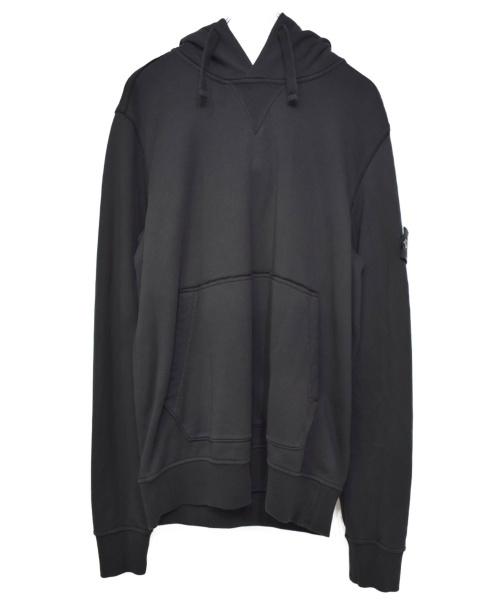 STONE ISLAND(ストーンアイランド)STONE ISLAND (ストーンアイランド) 19S/S PULLOVER HOODY ブラック サイズ:M #701562851の古着・服飾アイテム