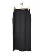 tricot COMME des GARCONS(トリコ コムデギャルソン)の古着「90sヴィンテージロングタイトスカート」 ブラック