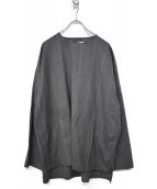 Graphpaper(グラフペーパー)の古着「20S/S プルオーバーシャツ」|グレー