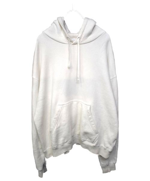 URU(ウル)URU (ウル) HOODED SWEAT ホワイト サイズ:1の古着・服飾アイテム