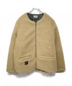 ROTAR(ローター)の古着「フリースジャケット」|ベージュ