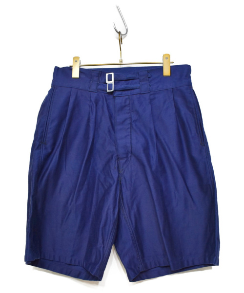 ITALY MILITARY(イタリア ミリタリー)ITALY MILITARY (イタリア ミリタリー) 70'Sヴィンテージグルカショーツ ブルー サイズ:表記無の古着・服飾アイテム