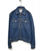 OUR LEGACY(アワーレガシー)の古着「JEAN JACKET USED RINSED WASH」|インディゴ