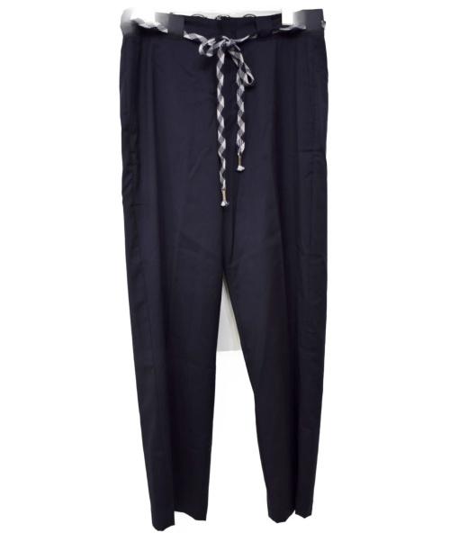 YSTRDY'S TMRRW × DICKIES(イエスタデイトゥモロー×ディッキーズ)YSTRDY'S TMRRW × DICKIES (イエスタデイトゥモロー×ディッキーズ) 17AW WORK PANTS LORO PIANA ネイビー サイズ:30 YT-PO151の古着・服飾アイテム