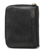 Hender Scheme(エンダースキマー)の古着「ラウンドファスナー財布」 ブラック