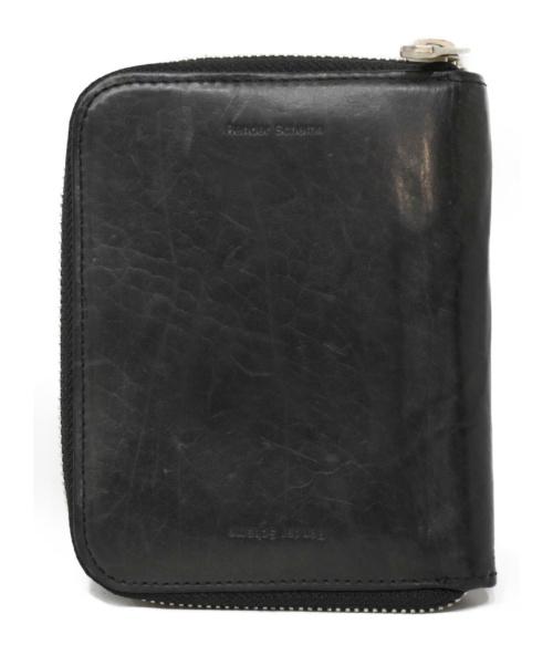 HENDER SCHEME(エンダースキーマ)Hender Scheme (エンダースキマー) ラウンドファスナー財布 ブラックの古着・服飾アイテム