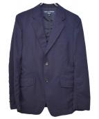 COMME des GARCONS HOMME(コムデギャルソンオム)の古着「16AW Wool Tro 2B Jkt」|ネイビー