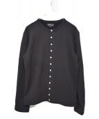 agnes b homme(アニエスベーオム)の古着「スナップボタンカーディガン」|ブラック