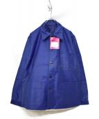 MONT KEMMEL(モンケメル)の古着「50'S FRENCH WORK JKT」|ブルー