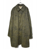 Czechoslovakia Army(チェコスロバキア アーミー)の古着「60s Rain-Drop Camo Trench Coat」|カーキ